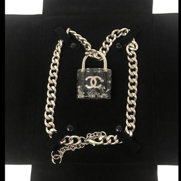 18cf2ba00107a7 CHANEL Jewelry | 2014 Large Padlock Confetti Necklace | Poshmark